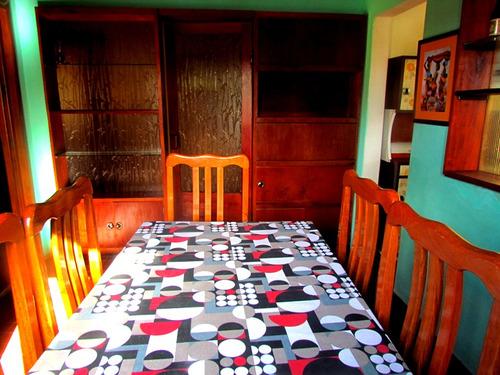 cómoda casa 3 dormit  250 m   playa la aguada dic- 24 al 28/02 y carnaval
