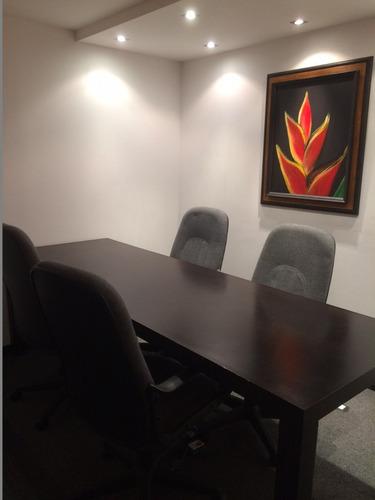 comoda oficina de 3 despachos equipada