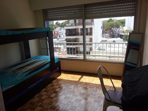 cómodo apartamento en rambla de malvín con espléndida vista
