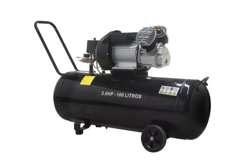 compresor de aire 100l 3hp + kit 5 accesorios panther