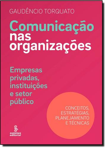 comunicação nas organizações empresas privadas instituições