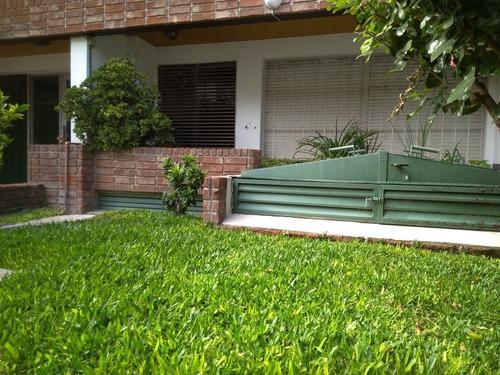 con patio propio! cerca del golf y shopping, 2 dorm, 2 baños