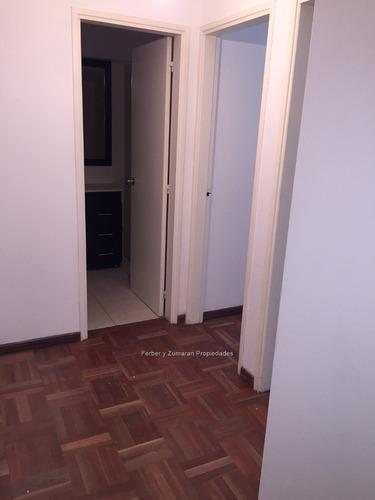 con renta apartamento venta 2 dorm. 55 m vig. 24 hs gge
