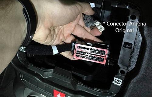 conector plug jeep renegade adaptador antena som original
