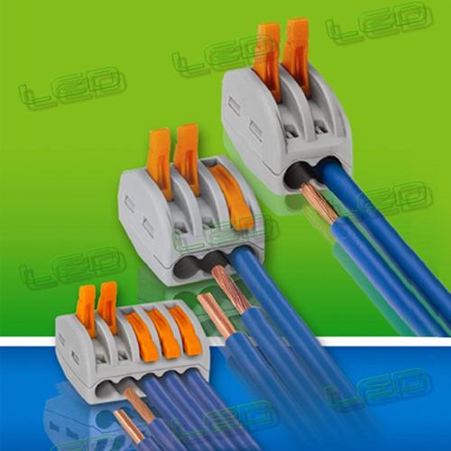 conector rápido de cables ver video precio por pack