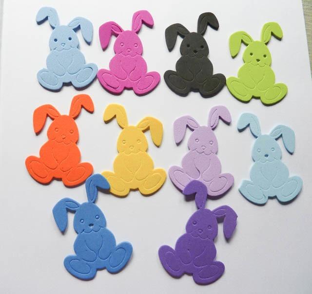 Conejo Goma Eva Baby Shower Bautismo Decoracion Nacimiento 220 - Fotos-de-goma-eva