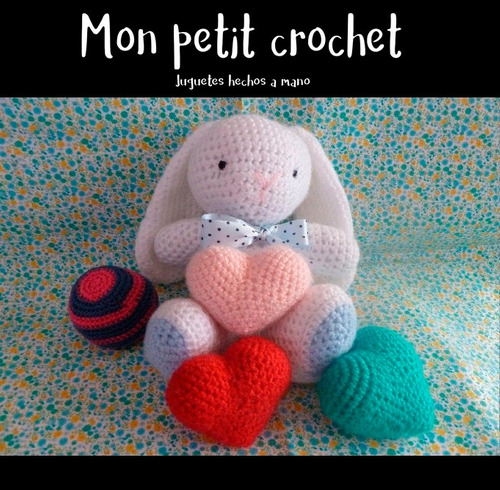 conejo muñecos amigurumis artesanales tejidos en crochet
