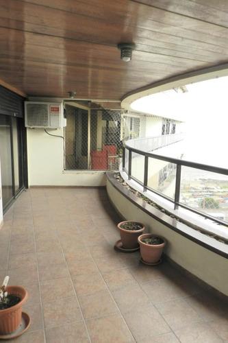 confortable apartamento 2 dormitorios sobre rambla - malvin