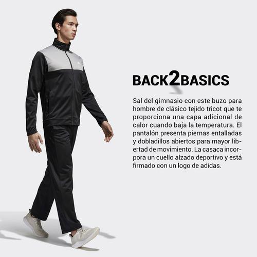 conjunto adidas back2basics de hombre pantalón campera