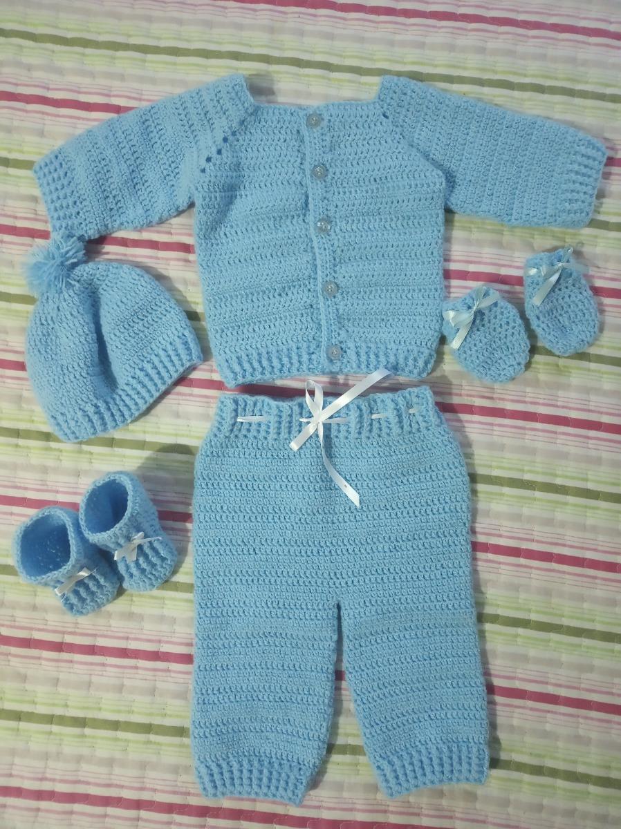 b4c6c3989 conjunto de bebe 1-3 meses - crochet. Cargando zoom.