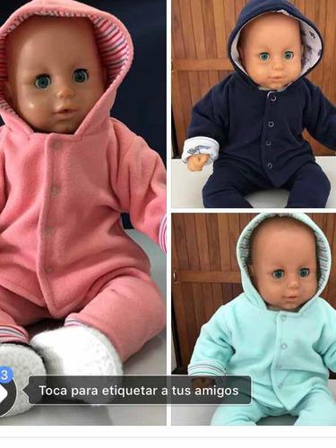 conjunto de bebé en micropolar