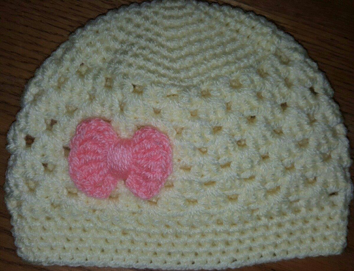 ecaf5432b8201 conjunto de gorro y escarpines en crochet bebé de 3-6 meses. Cargando zoom.