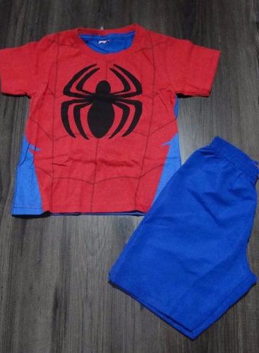conjunto homem aranha div. cores/modelos 2! queima d estoque