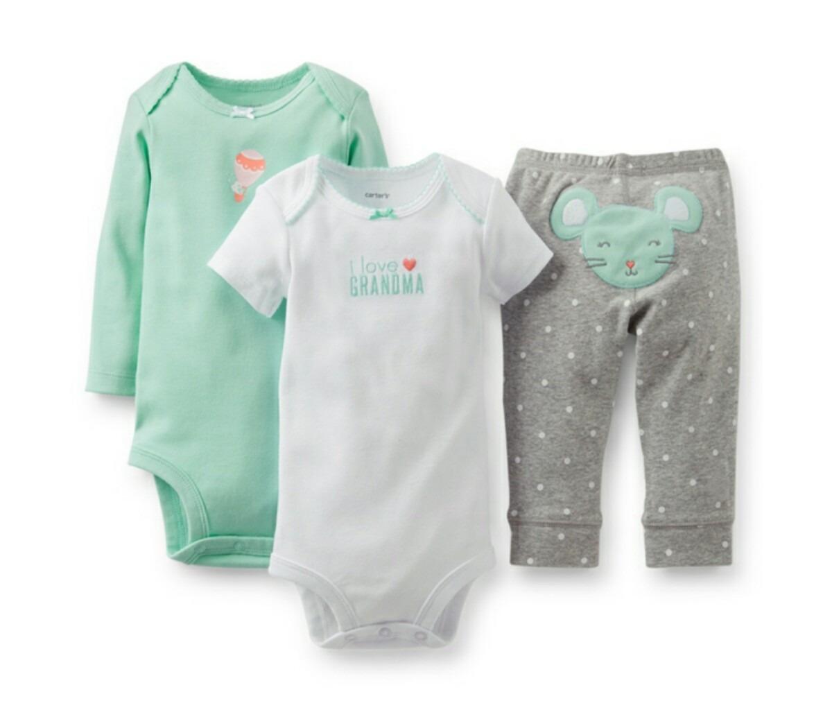 f611d69be conjunto ropa bebe niño carter´s 3 piezas talles varios. Cargando zoom.