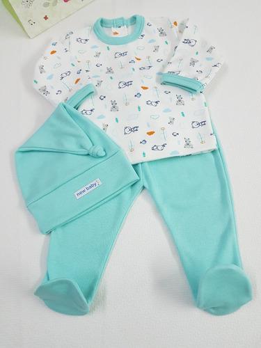 conjuntos   algodon  bebe recien nacido