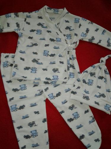 conjuntos de bebé 3 piezas (pak 10 conjuntos)