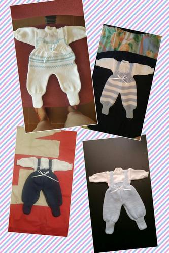 conjuntos de bebe en hilo y lana acrilica  amaquina a pedido