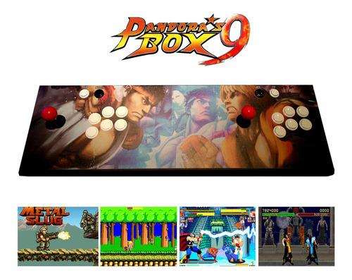 consola arcade pandora box 9 con 1500 juegos retro amv