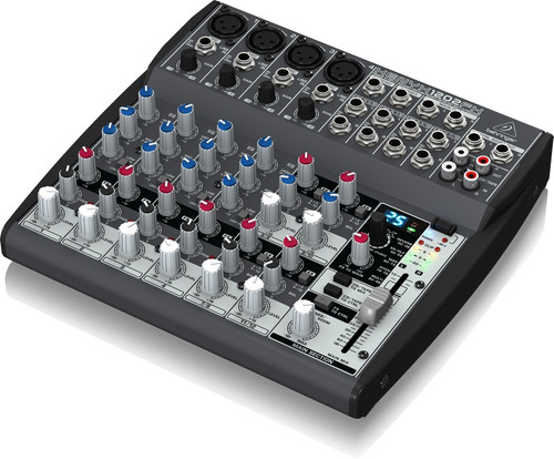 consola behringer xenyx 1202fx 12 in 4 mic + 4 st efectos eq