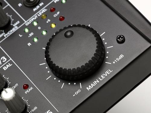 consola de sonido alto zmx52 de 5 canales - baiz!