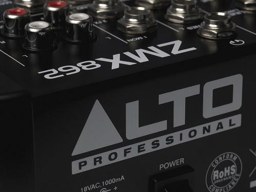consola de sonido alto zmx862 de 6 canales - baiz!