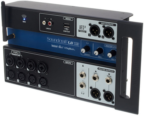 consola digital soundcraft ui12