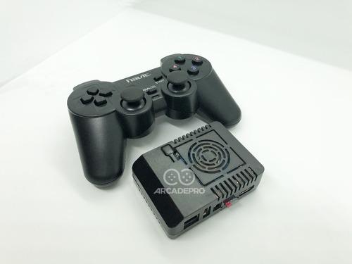 consola juegos retro arcade pro + 128gb + 1 joystick inalam