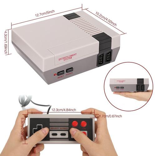consola mini  family game retro  620 juegos incluidos