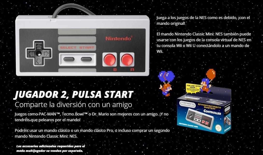 Consola Retro Nintendo Mini Nes 30 Juegos Clasicos Incluidos U S