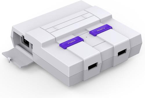 consola nintendo nes mini classic pero mejor + juegos snes
