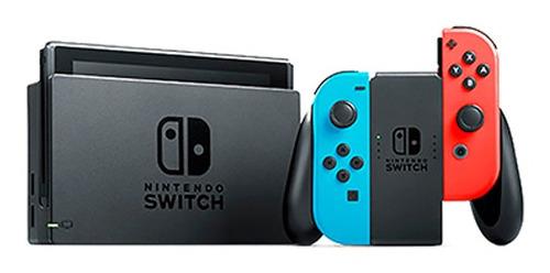 consola nintendo switch c/joy-con hd nfc wifi