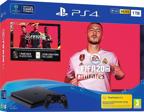 consola ps4 playstation 4 sony 1tb bundle oficial fifa 2020