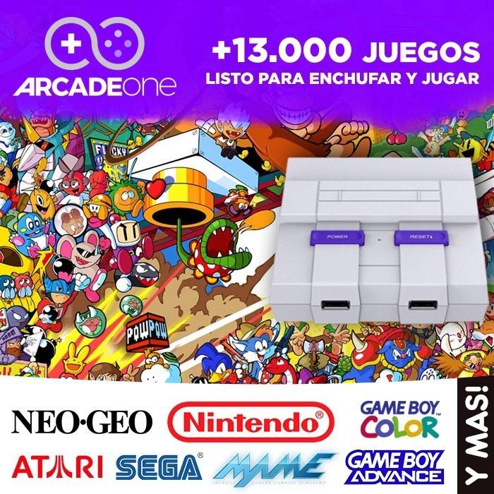Consola Retro Arcade One 13 000 Juegos 2 Joysticks U S 220 00 En