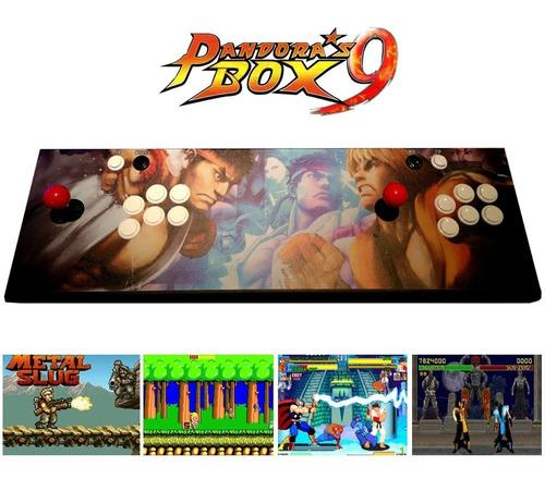 consola retro arcade pandora box 9 nuevo diseño 1500 juegos