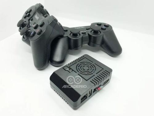 consola retro arcade pro + 128gb + 2 joystick usb