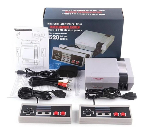consola retro mini game 620 juegos incluidos juego