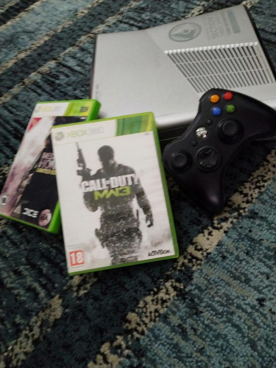 Consola Xbox 360 Edicion Limitada (destrabada) Rgh 2 Juegos