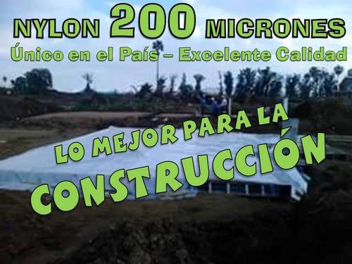 construcción arquitectura ideal nylon 200 mic. x rollo