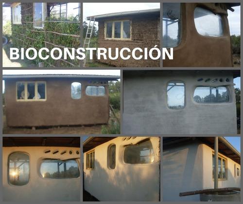 construcción casas de barro. piriápolis. bioconstrucción.