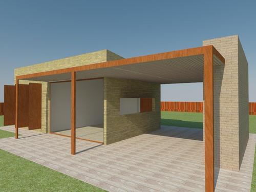 construccion casas minimalistas