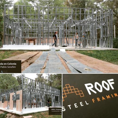 construcción casas steel framing prefabricadas consulte m2