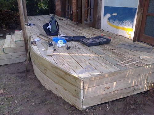 construccion de deck`s, pèrgolas , pisos.