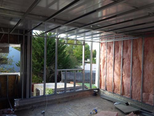 construccion liviana techos paredes isopanel / steel framing