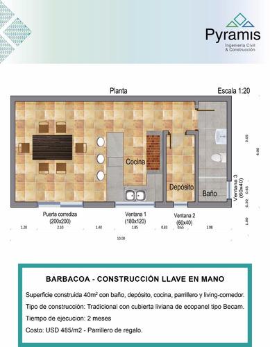 constructora pyramis - tradicional- steel framing