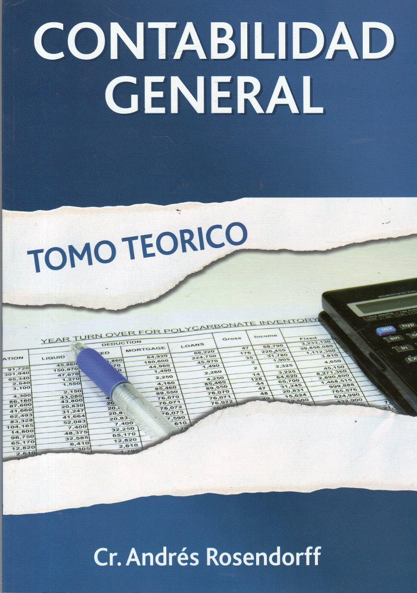 contabilidad general tomo teórico andrés rosendorff 480 00 en