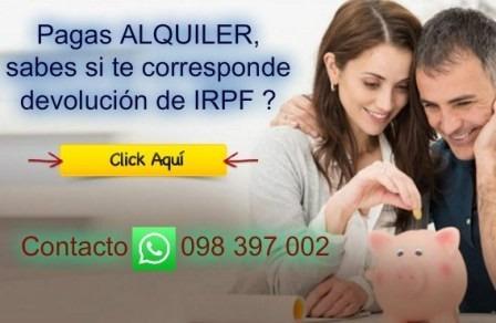 contador público - estudio contable declaración irpf dgi iva