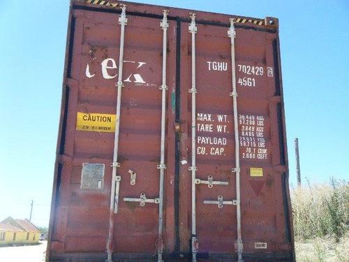 contenedor marítimo 40 pies high cube usados