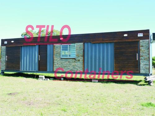 contenedores, containers maritimos,refaccionados a vivienda