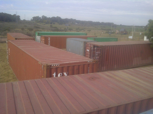 contenedores de 20 y 40 pies nuevos y usados seleccionados