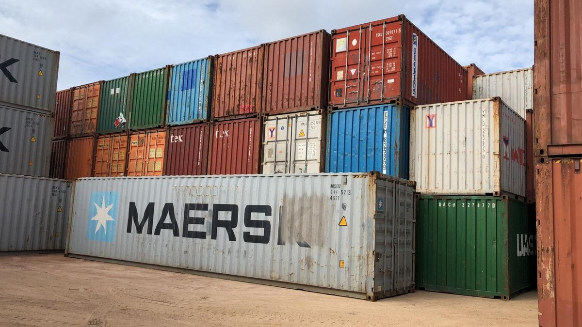 contenedores nuevos y usados